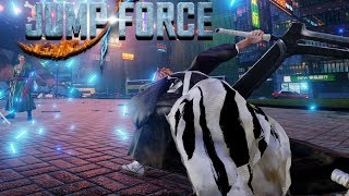 Sword Users Only | Jump Force Closed Beta Gameplay!