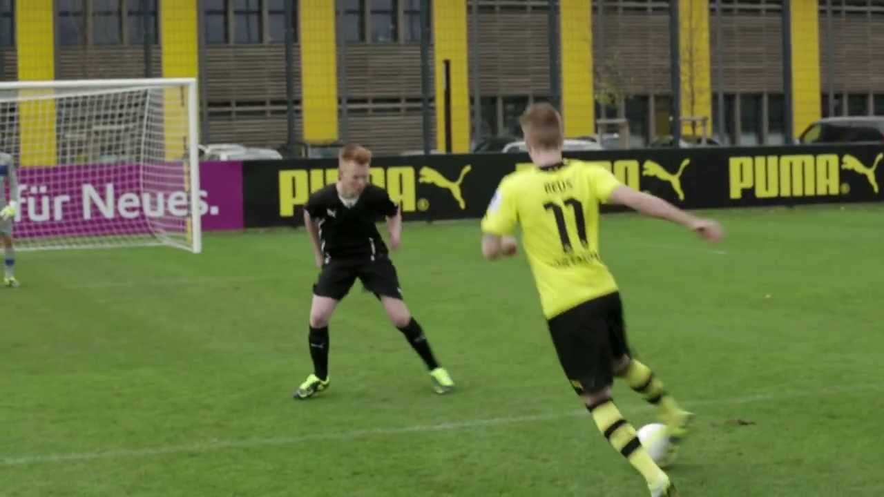 PUMA FC | Marco Reus Challenge Winner - YouTube