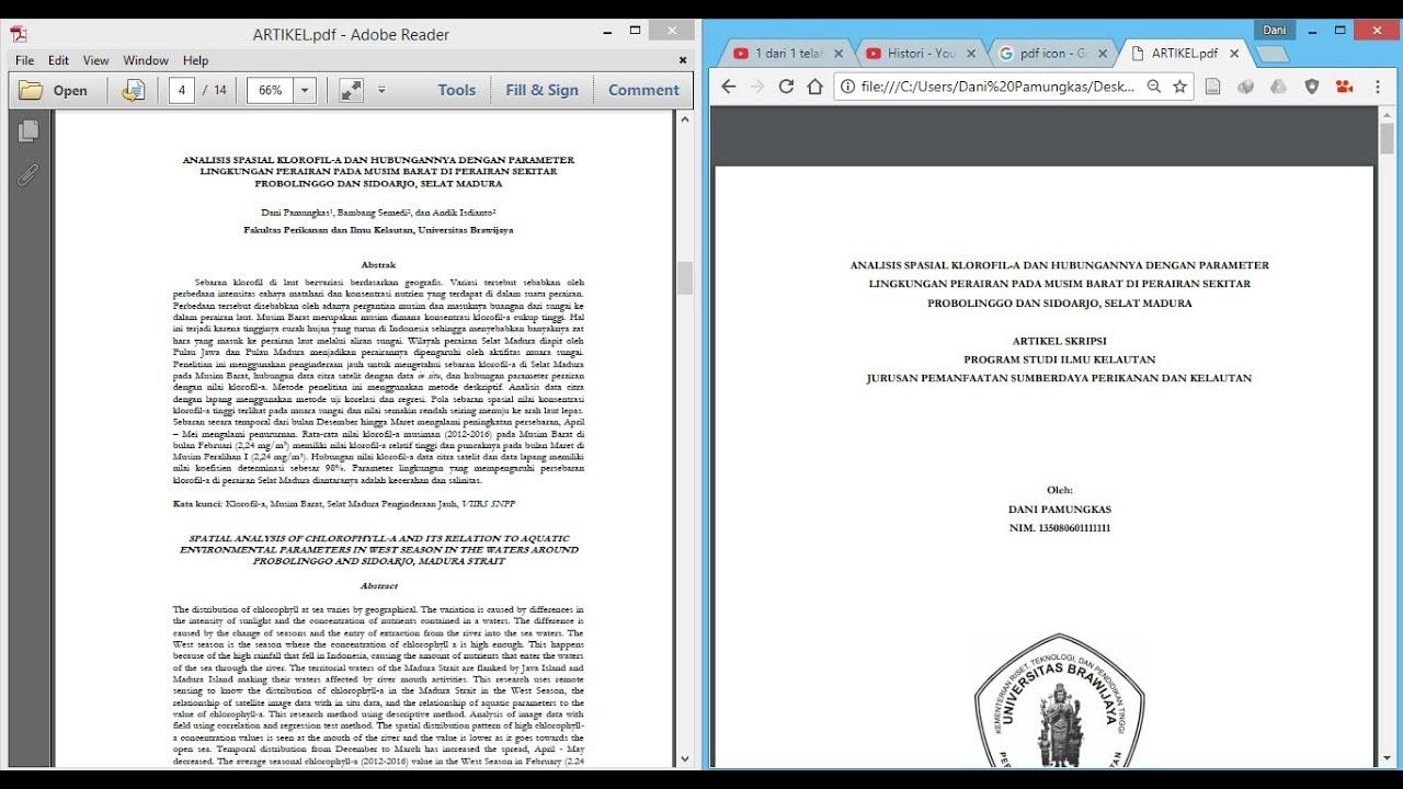 Artikel cara pdf men