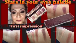 First impression- NEW stars in your eyes palette Charlotte Tilbury