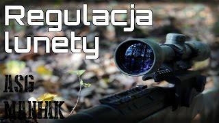 ASG Maniak #37 Regulacja Lunety - Jak ustawić lunetę? Poradnik