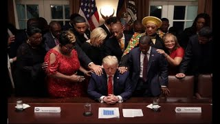"BLACK TRUMP ""First Black President"" Trump's Life helping Black People HBCUs First Step Act"