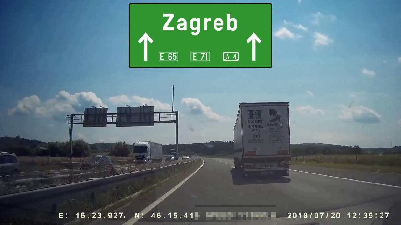Road Trip Slovakia Croatia Part 3 Gorican Zagreb Zadar Split Ploce Youtube