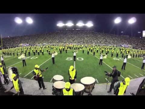 Oregon Marching Band   Bruno Mars