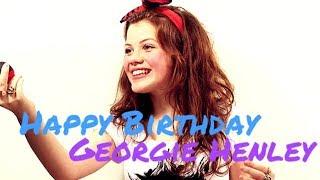 Happy Birthday   Georgie Henley