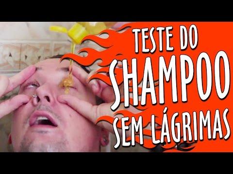 Teste do Shampoo sem Lágrimas   Vale a Pena Gravar De Novo
