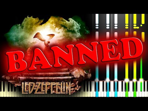 LED ZEPPELIN - STAIRWAY TO HEAVEN - Piano Tutorial (Silent)