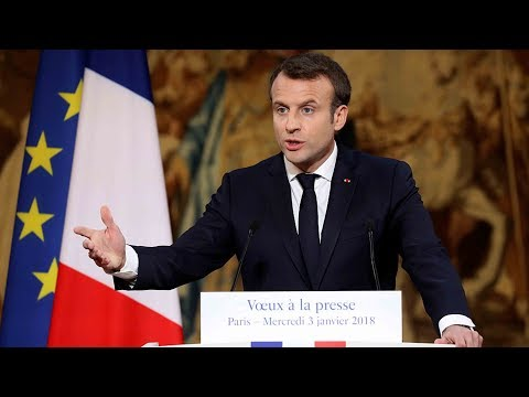 France's Macron vows fake news law, eyeing Russia