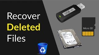How to Recover Deleted Files From USB Flash Drive, SD Card, Hard Disk