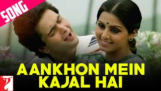 Aankhon Mein Kajal Hai Song , आँखों में काजल है , Doosara Aadmi , Kishore, Lata , Rishi, Neetu