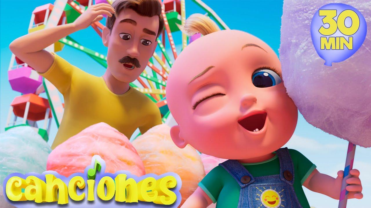 Johny Johny si Papá en español - Canciones infantiles LooLoo | Compartir es Divertido