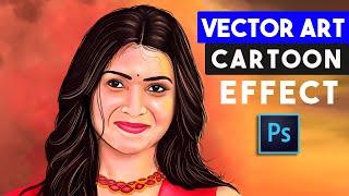 Wie Vektor-Kunst-Cartoon-Effekte Ohne Zeichenstift-Werkzeug in Photoshop-Tricks