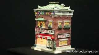 DEPARTMENT 56 A CHRISTMAS STORY VILLAGE CHOP SUEY PALACE