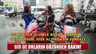 İstanbul trafiğinde motosikletli olmak!