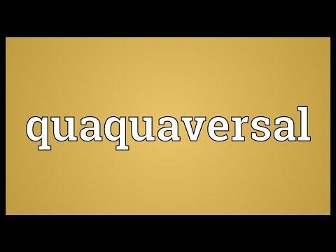 Header of quaquaversal