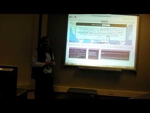 web 3.0 Class 5: Semantic Annotation