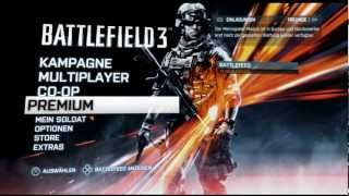 Battlefield 3 Premium Overview Deutsch