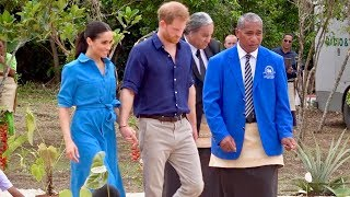 Royal Tour Tonga - Duke and Duchess of Sussex - Queen