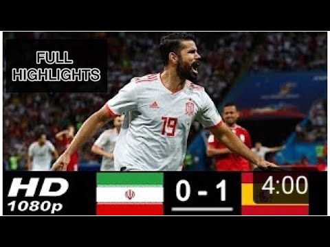 Iran vs Spain ALL GOALS FULL EXTENDED HIGHLIGHTS
