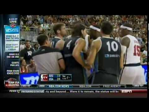 Basketball: Team USA beats Argentina 86-80
