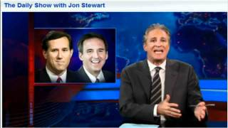 Media ignoring Ron Paul - Jon Stewart notices!