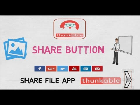 How To Share Image In Thunkable   Share Button Add In Your App   Thunkable 2018 - Sharing File