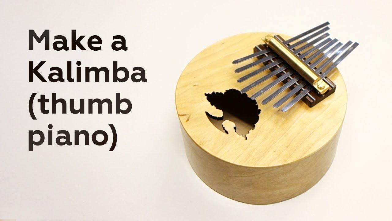 Make a Kalimba (thumb piano) - YouTube