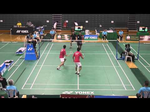 2014 K&D Graphics & YONEX Grand Prix Badminton Championships MD QF3 (Partial) 1080P HD
