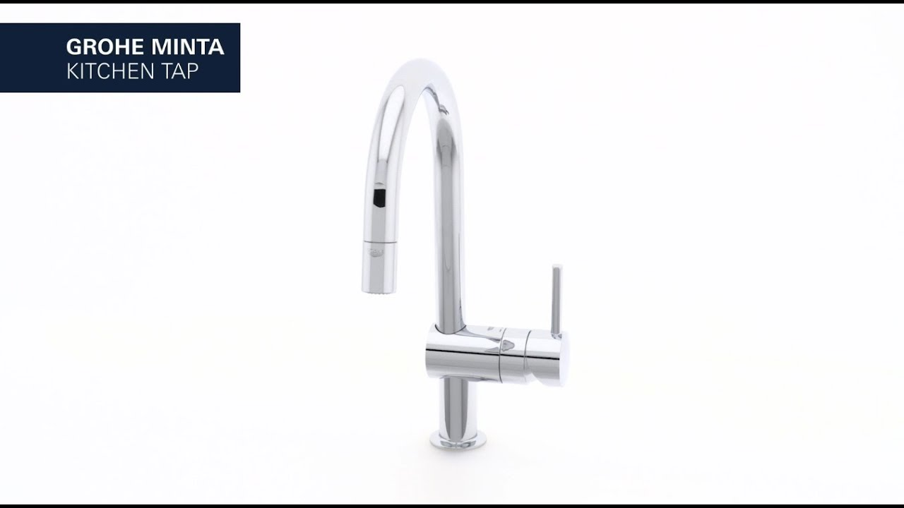 GROHE Minta – The kitchen tap that combines elegance and functional ...