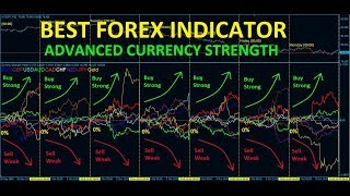 Best FOREX Indicator - Advanced Currency Strength Meter!!
