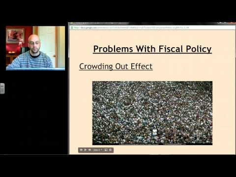 AP Macro: Unit 4 Screencast 4 - Problems With Fiscal Policy; Supply Side Policy