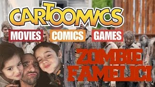 Zombie Famelici mangiano i miei figli: Cartoomics 2017
