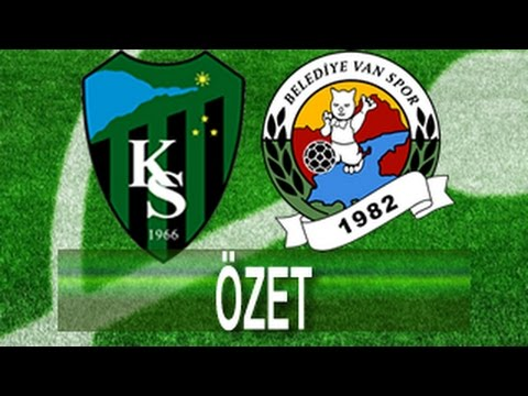 Kocaelispor - Vanspor Maç Özeti   Video Denizi