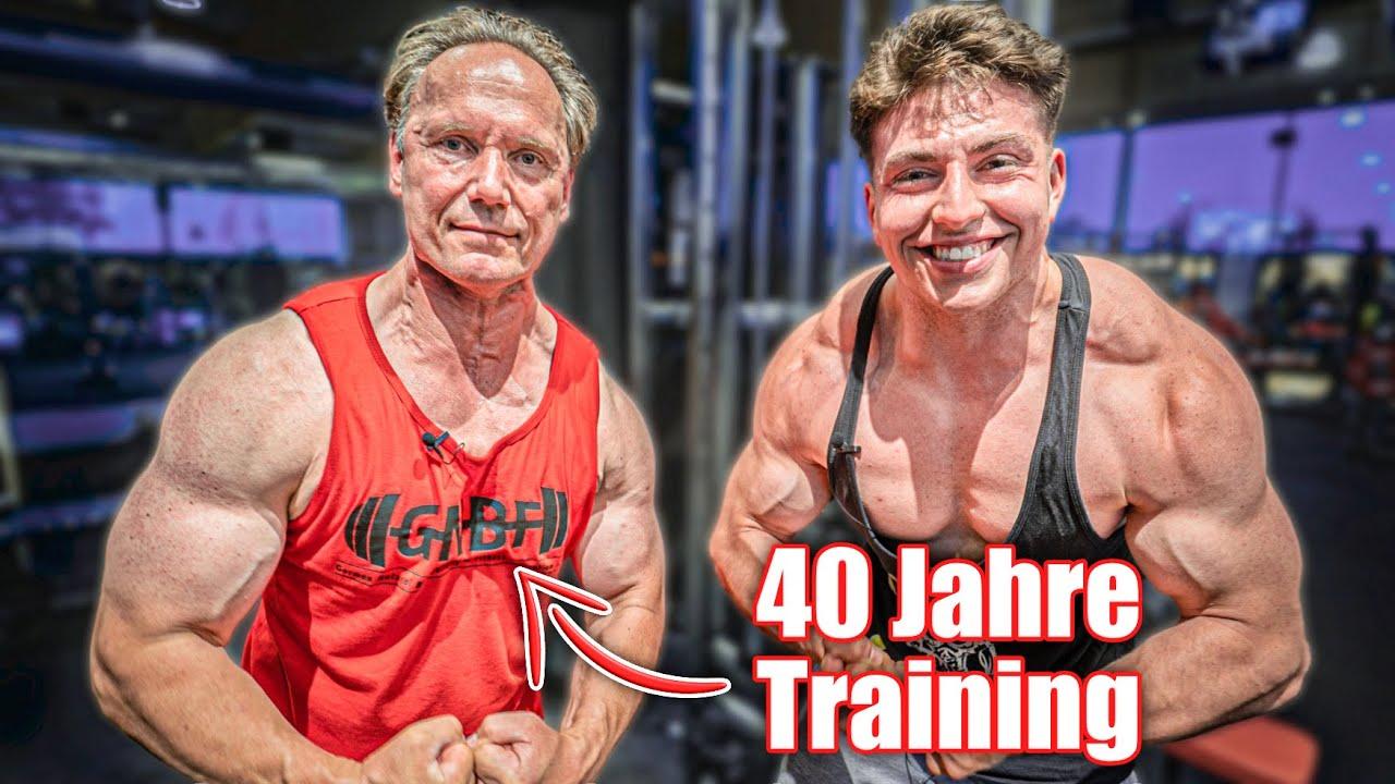 57, Natural & Muskulöser als du! Training mit GNBF Gründer Berend Breitenstein