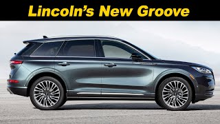 2020 Lincoln Corsair First look