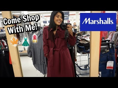 Come Shop With Me at MARSHALLS! (Makeup, Clothes, Fall Decor, Home Decor)