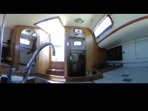 Brokerage 1994 Freedom 35 - 360 Video Tour - by Annapolis Yacht Sales