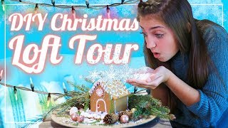 Kamri's LOFT TOUR | $1 Store DIY Holiday Decor