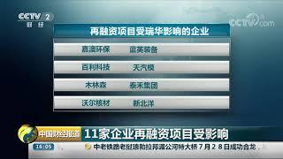 [中国财经报道]瑞华事务所被调查 4家科创板企业中止审核  CCTV财经
