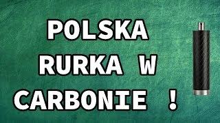 Polska Rurka w Carbonie - SMArt Mods ONE SS 24mm Carbon Mat