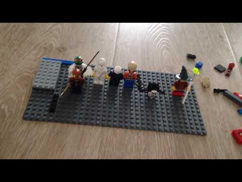 Мини фигурки Лего ужастики