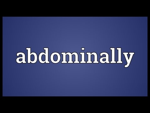 Header of abdominally
