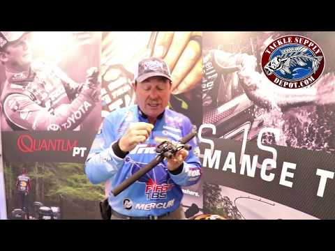 The NEW Quantum Smoke S3 Casting Reel with Shaw Grigsby at ICAST 2017