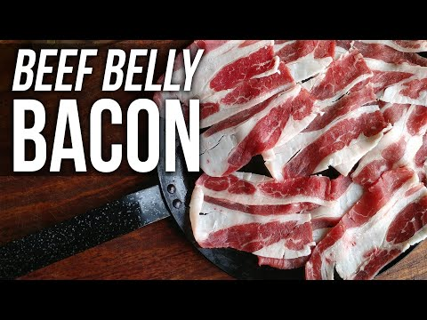 Beef Belly Bacon Soup by the BBQ Pit Boys