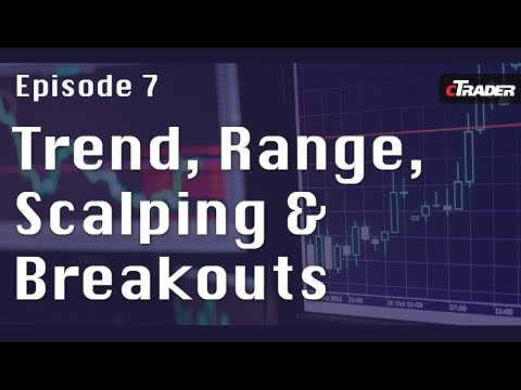 Trend, Range, Scalping and Breakouts - Learn to trade Forex with cTrader - Episode 7
