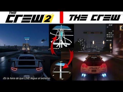 Mapa The Crew 2.The Crew 2 Map Graphics Comparison The Crew 2 Mapa Comparacion Grafica