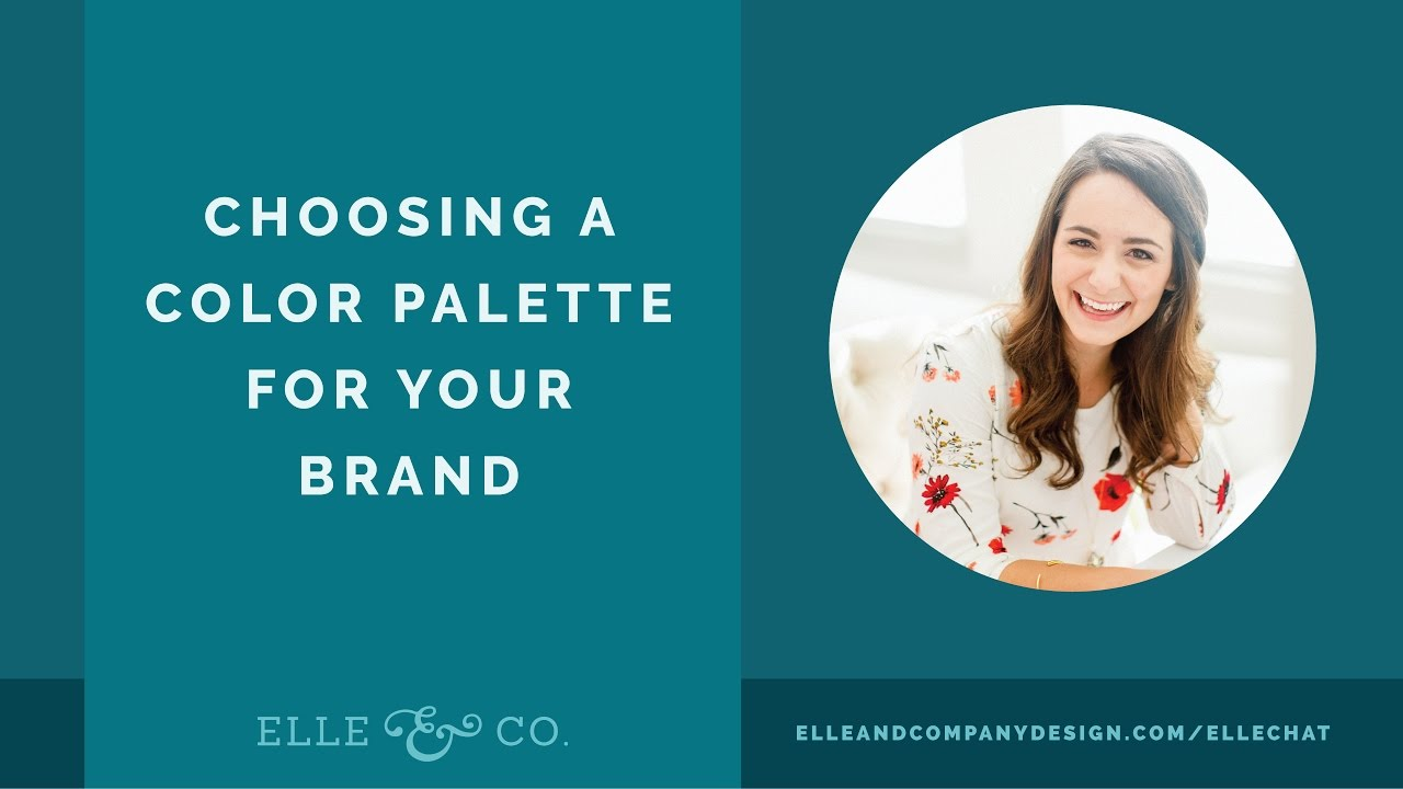 Choosing a Color Palette for Your Brand - YouTube