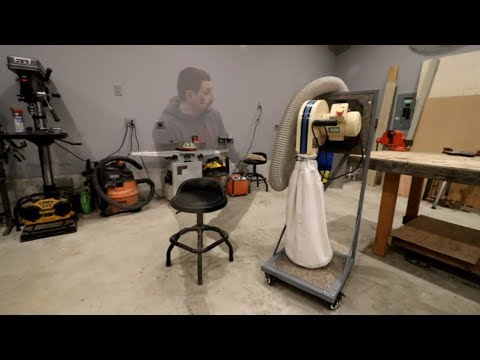 DIY Dust Collection Cart