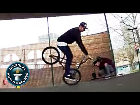 BMX Flatland: Matti Hemmings Record Attempt - Guinness World Records