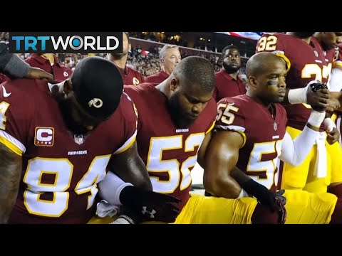 NFL Protests: Players kneel to protest racial injustice in US